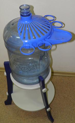 Подставка для воды 19 литров своими руками 97